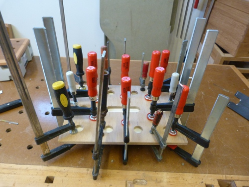 router table clamping