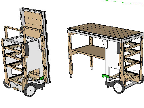 Tool Cart Plans
